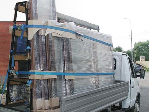 Профессиональная доставка пластиковых окон