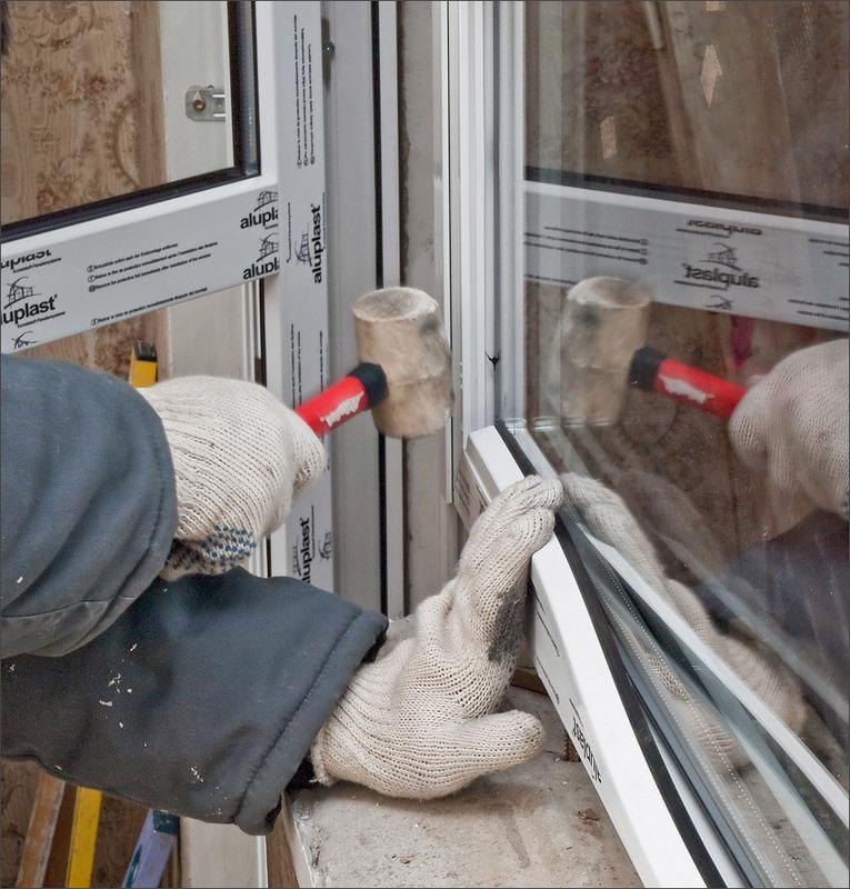 Установка пластиковых окон и откосов своими руками