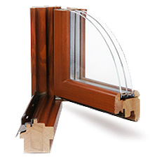 Окна из лиственницы спб