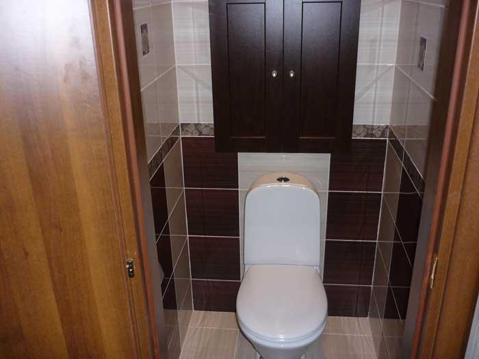 Ремонт туалетной комнаты фото